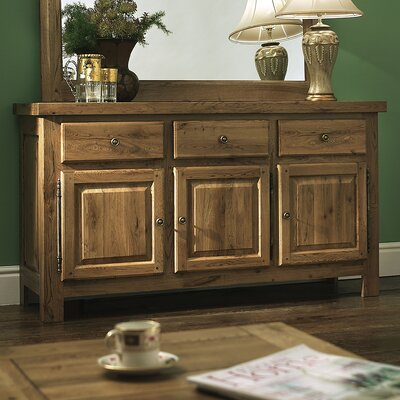 Carlton Furniture Windermere 3 Door 3 Drawer Sideboard Reviews Wayfair Uk