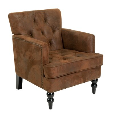 Malone Tufted Club Chair by Home Loft Concepts