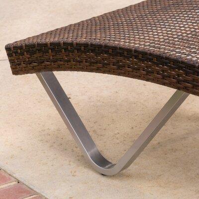 Home loft concepts san marco chaise lounge reviews wayfair for Ashley san marco chaise