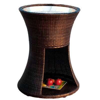 Home Loft Concepts Rocky Wicker Beverage Caddy