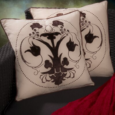 Anna Embroidered Throw Pillow by Home Loft Concepts