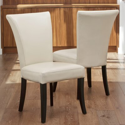 Columbia Leather Dining Chair by Home Loft Concepts