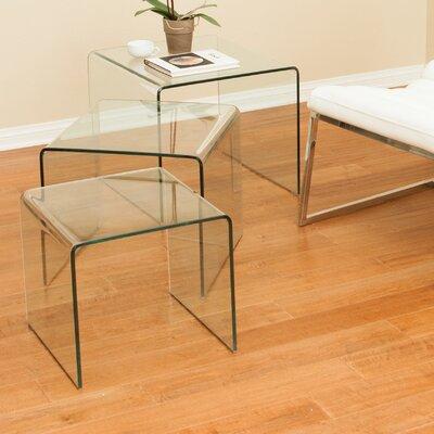 Celeia 3 Piece Nesting Tables by Home Loft Concepts