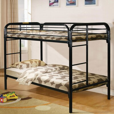 Twin Over Twin Bunk Bed by Hazelwood Home