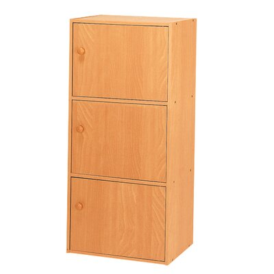 Hazelwood Home 3 Door Storage Cabinet