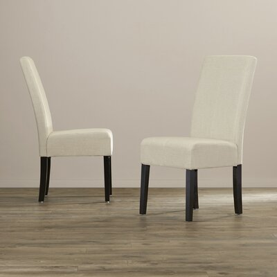 Acropolis T-Stitch Side Chair by Andover Mills
