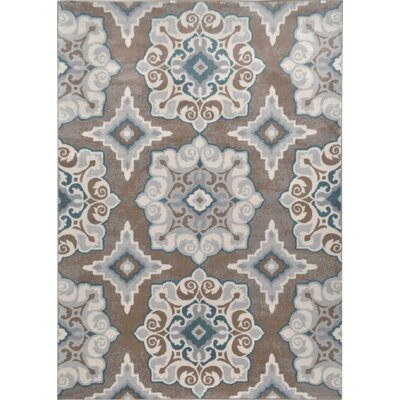 andover mills rug blue tan