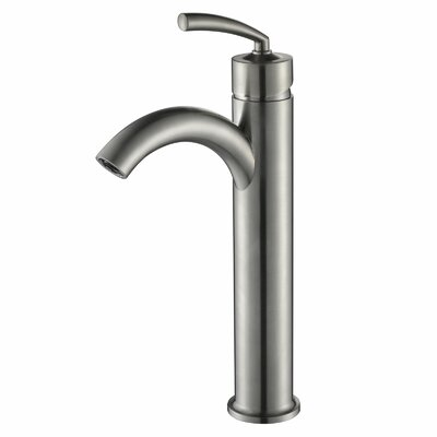 Single Handle Bathroom Faucet with U Arched Spout Product Photo