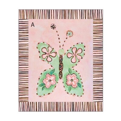 Spring Is In The Air I Gallery Wrapped Canvas Art by Green Frog
