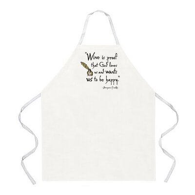 Attitude Aprons by L.A. Imprints Wine is Proof Apron