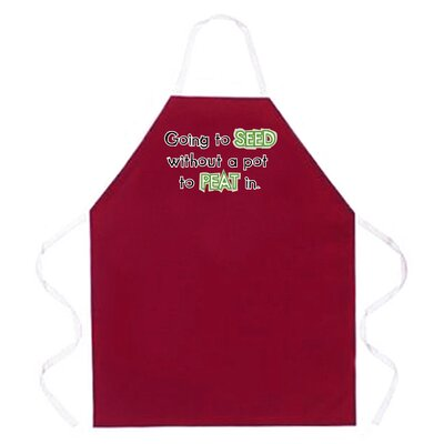 Attitude Aprons by L.A. Imprints Going to Seed Apron