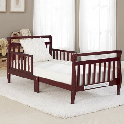 Cherry Sleigh Toddler Bed Classic Sleigh Toddler Bed