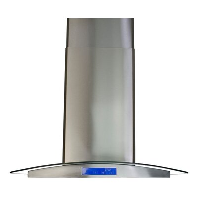 "30"" 900 CFM Island Range Hood in Stainless Steel Product Photo"