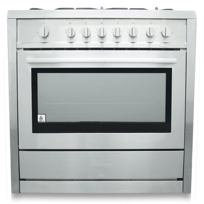 3.8 Cu.Ft. Gas Range in Stainless Steel Product Photo