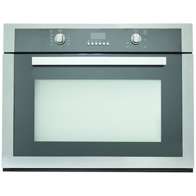 "Cosmo 29.5"" Electric Single Wall Oven in Black Product Photo"