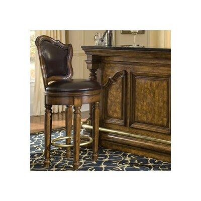 Accents Swivel Bar Stool with Cushion by Pulaski