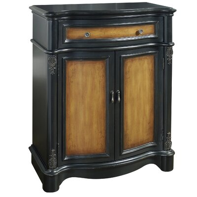 Pulaski Furniture Timeless Classics 1 Drawer 2 Door Two Toned Accent Chest