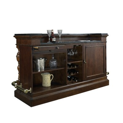 Pulaski Carlton Manor Bar With Wine Storage Reviews Wayfair Supply