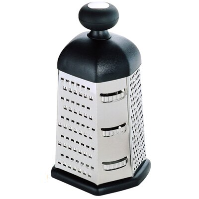 6 Sided with Knob Cheese Grater by Home Basics