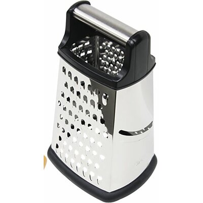 4 Side Metal Handle Cheese Grater by Home Basics