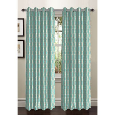 Wesley Faux Silk Extra Wide Grommet Curtain Panels (Set of 2) Product Photo