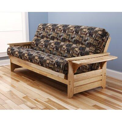 Phoenix Peter's Cabin Futon and Mattress by Kodiak Furniture