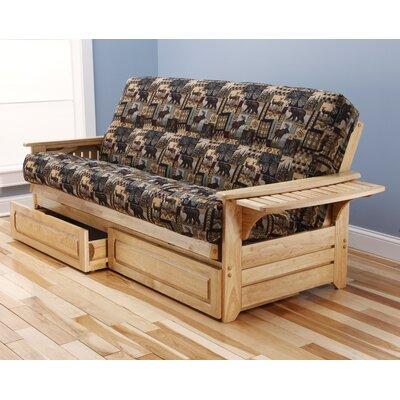 Phoenix Peter's Cabin Storage DrawersFuton and Mattress by Kodiak Furniture