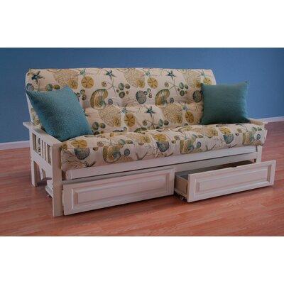 Coastal Monterey Storage Drawers Futon and Mattress by Kodiak Furniture