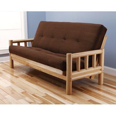 Lodge Suede Futon and Mattress by Kodiak Furniture