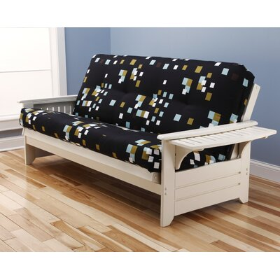 Phoenix Modern Blocks Futon and Mattress by Kodiak Furniture
