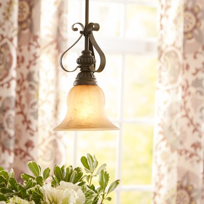 Scroll 1 Light Mini Pendant Product Photo