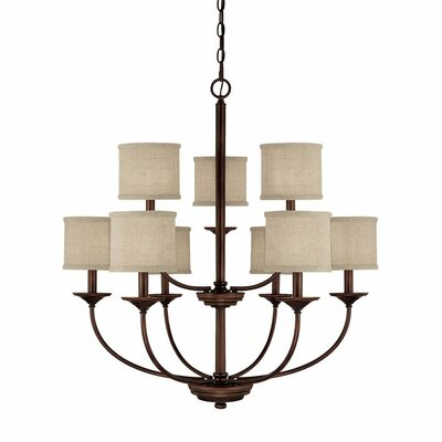 9 Light Chandelier Product Photo