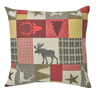 Classic Cabin Pillow by Three Posts