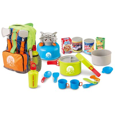 Little Explorer 13-Piece Camping Cooker Play Set by Berry Toys