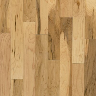 "Forest Valley Flooring 2-1/4"" Solid Maple Hardwood Flooring in Country Natural"
