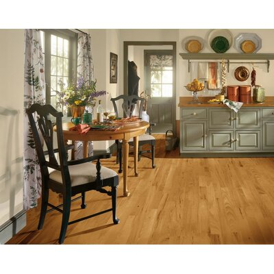 "Forest Valley Flooring 5"" Solid Hickory Hardwood Flooring in Smokey Topaz"