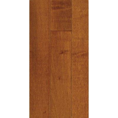 "Forest Valley Flooring 3-1/4"" Solid Maple Hardwood Flooring in Cinnamon"