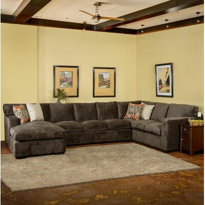 Grande Left Hand Facing Sectional by Summit Furnishings
