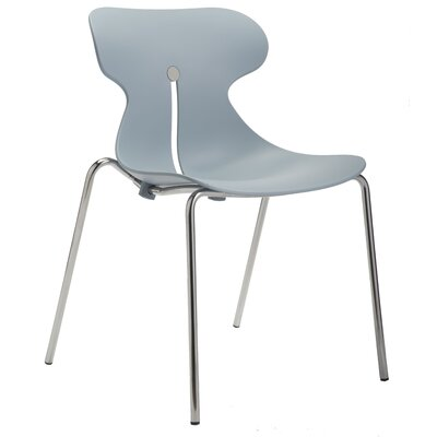 Cozy Armless Office Stacking Chair by Silver Seating