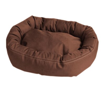 Brutus Tuff Comfy Cup Bolster Dog Bed by Carolina Pet Company