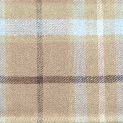 Zoey Tails Waterproof Pet Throw Blanket in Blue & Brown Plaid