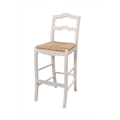 Charleston Bar Stool with Cushion by American Heritage