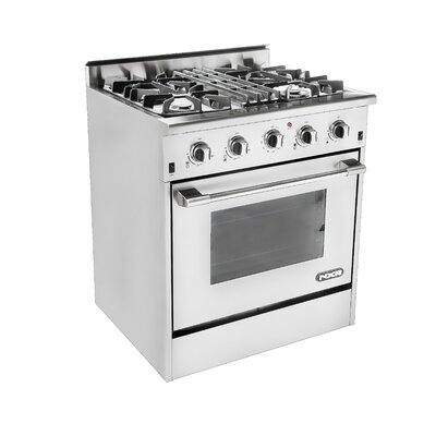 4.2 Cu. Ft. Gas Convection Range in Stainless Steel by NXR Professional Ranges