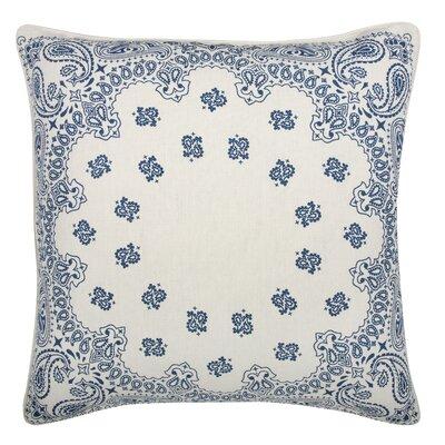 Thomas Paul Fragments Bandana Cotton Throw Pillow