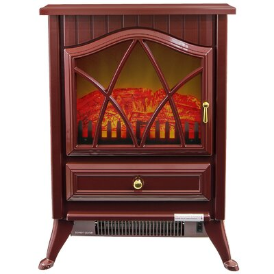 Freestanding 400 Square Foot Electric Fireplace Stove Heater by AKDY