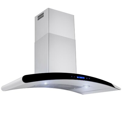 "30"" 760 CFM onvertible Wall Mount Range Hood in Silver Product Photo"