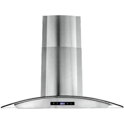 "30"" 760 CFM Convertible Wall Mount Range Hood in Silver Product Photo"