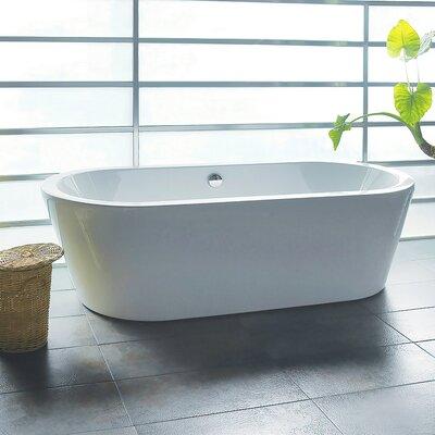 "70.87"" x 31.5"" Soaking Bathtub Product Photo"
