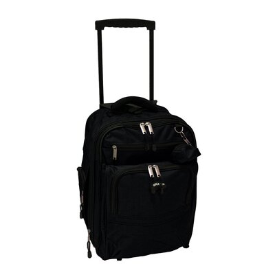 Deluxe Expandable Rolling Carry-On Backpack by Verucci