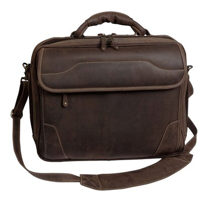 Dakota Pines Leather Briefcase by Canyon Outback Leather